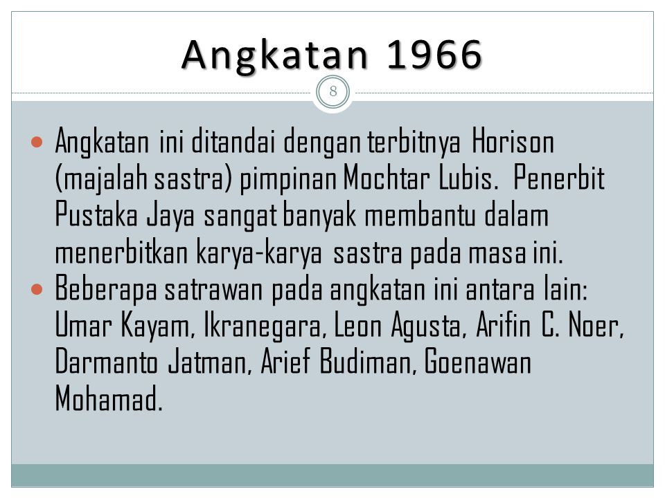 Angkatan 1966