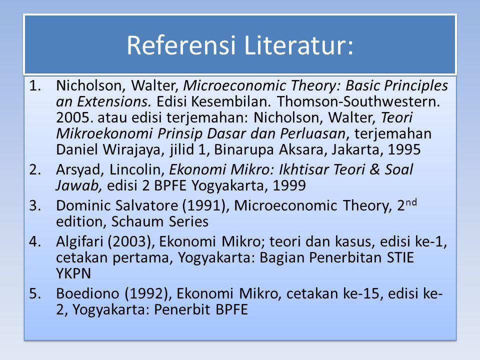 Referensi Literatur:
