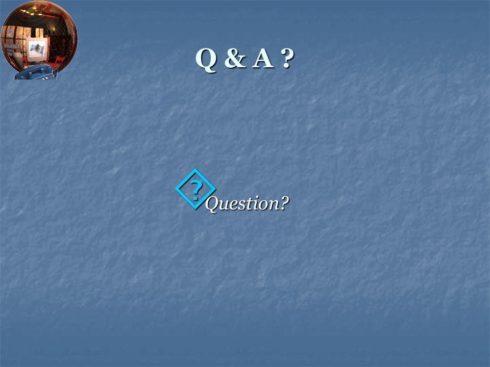 Q & A Question