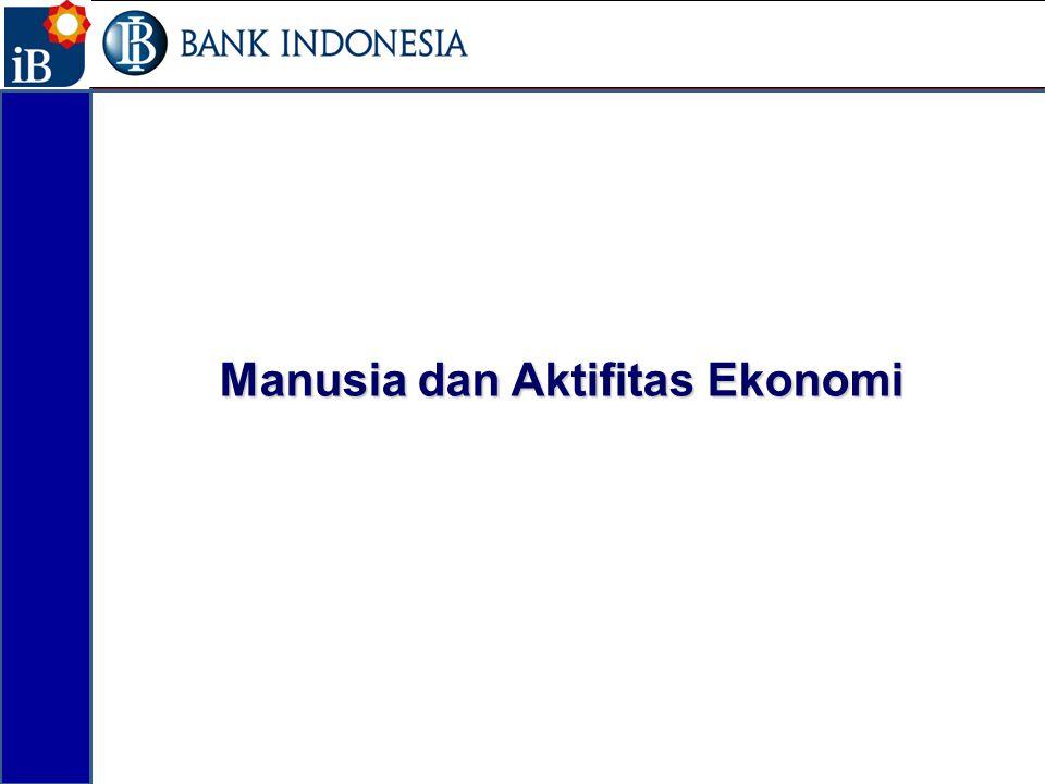 Manusia dan Aktifitas Ekonomi