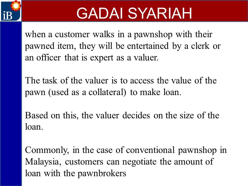 GADAI SYARIAH