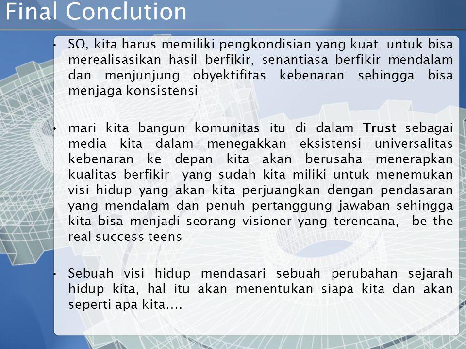 Final Conclution