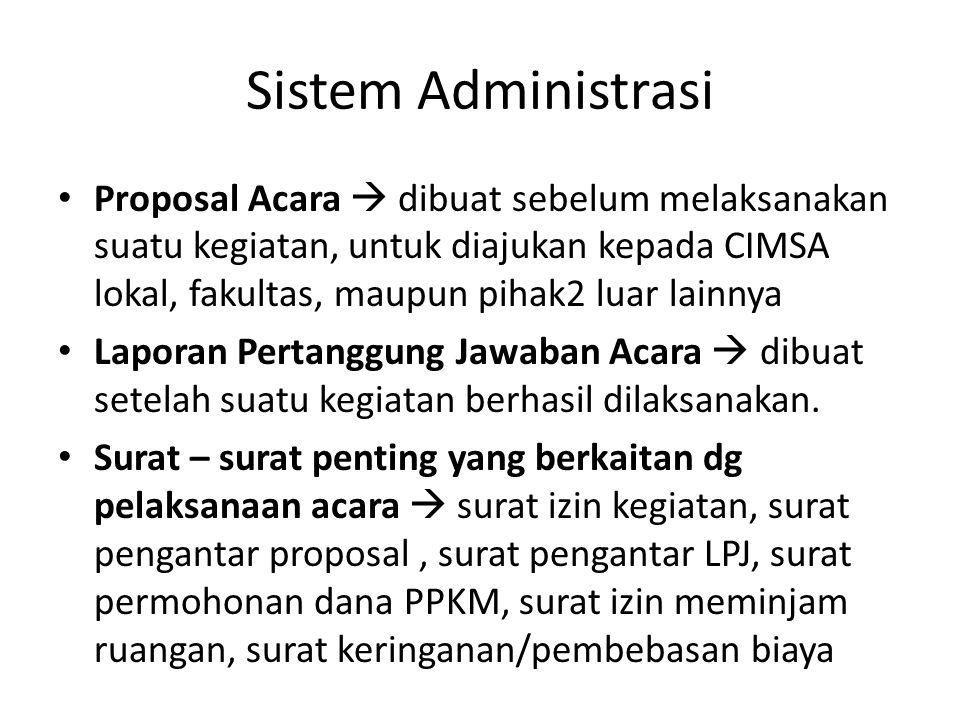 Sistem Administrasi
