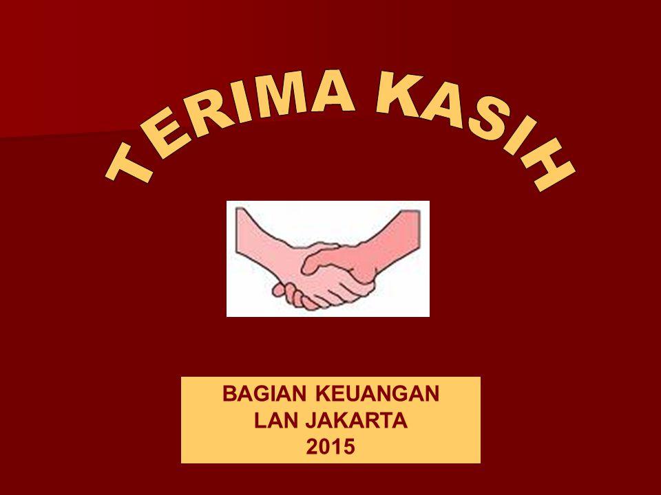 TERIMA KASIH BAGIAN KEUANGAN LAN JAKARTA 2015