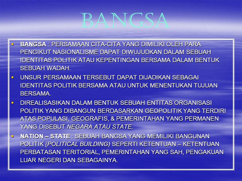 BANGSA