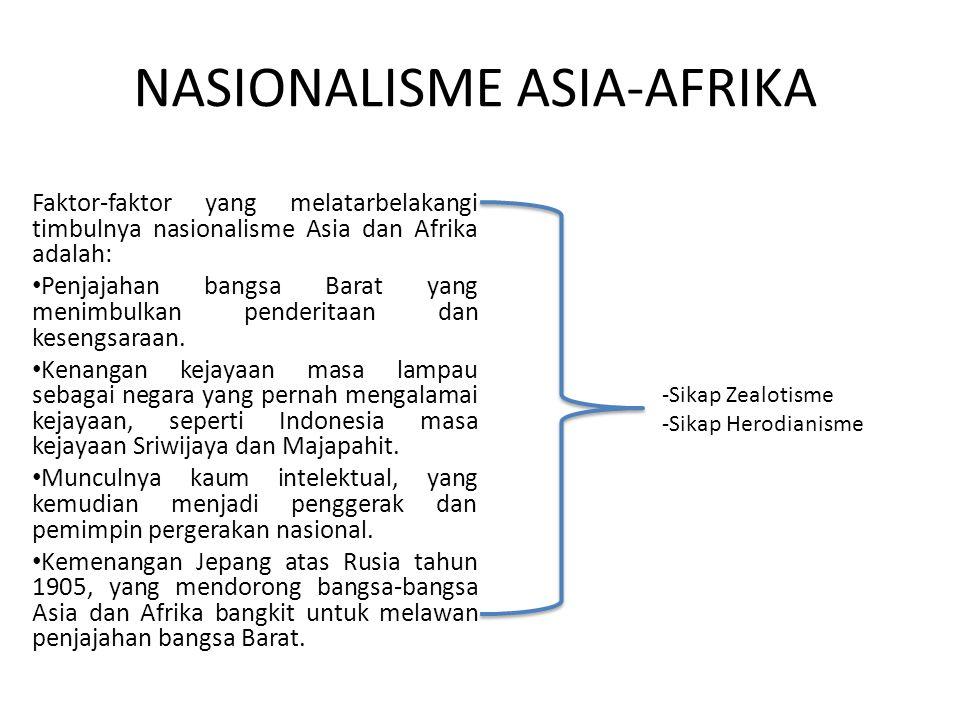 NASIONALISME ASIA-AFRIKA