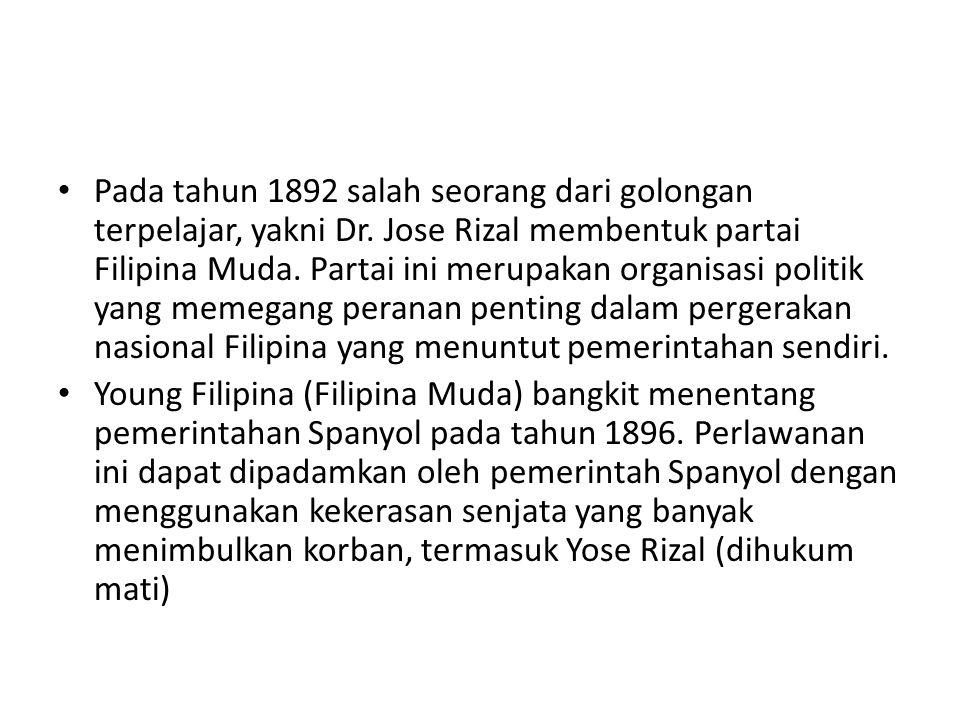 Pada tahun 1892 salah seorang dari golongan terpelajar, yakni Dr