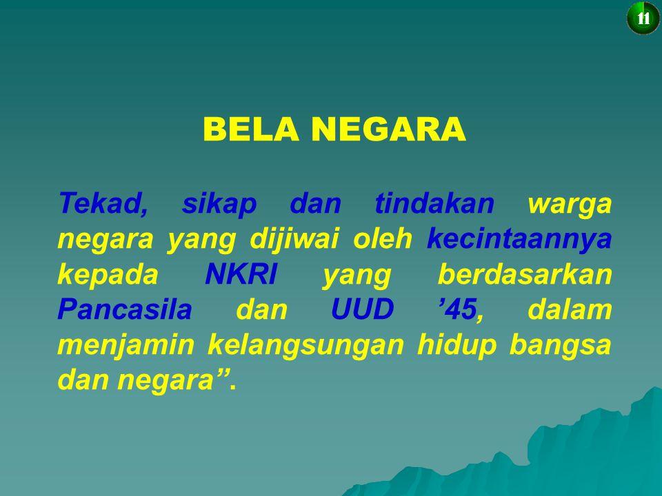11 BELA NEGARA.