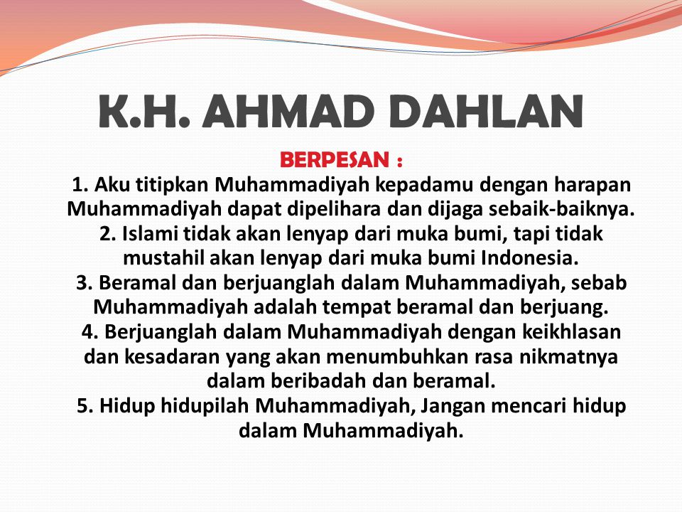K.H. AHMAD DAHLAN