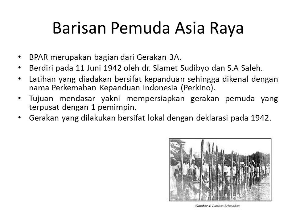 Barisan Pemuda Asia Raya