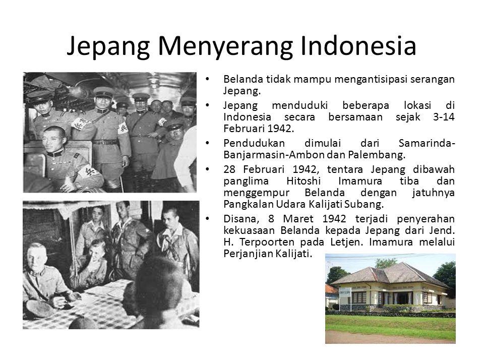 Jepang Menyerang Indonesia