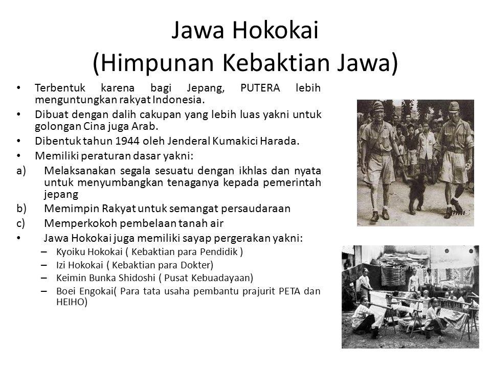 Jawa Hokokai (Himpunan Kebaktian Jawa)