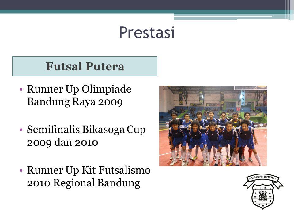 Prestasi Futsal Putera Runner Up Olimpiade Bandung Raya 2009