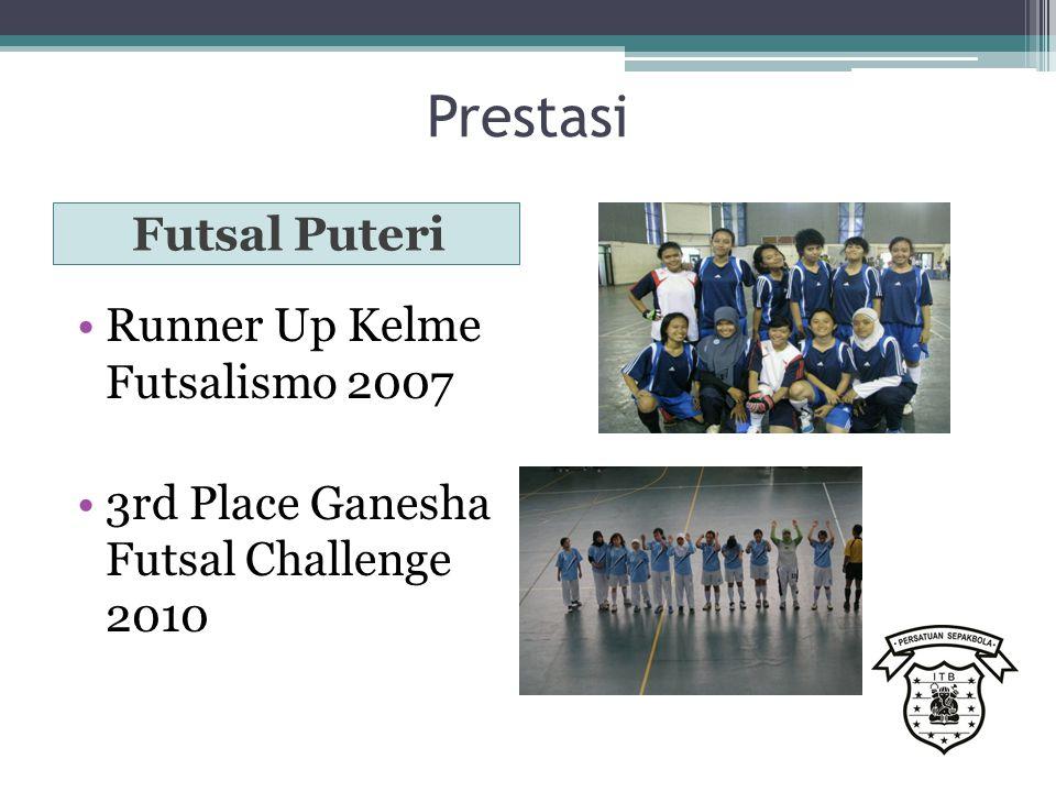 Prestasi Futsal Puteri Runner Up Kelme Futsalismo 2007