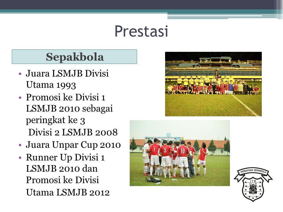 Prestasi Sepakbola Juara LSMJB Divisi Utama 1993