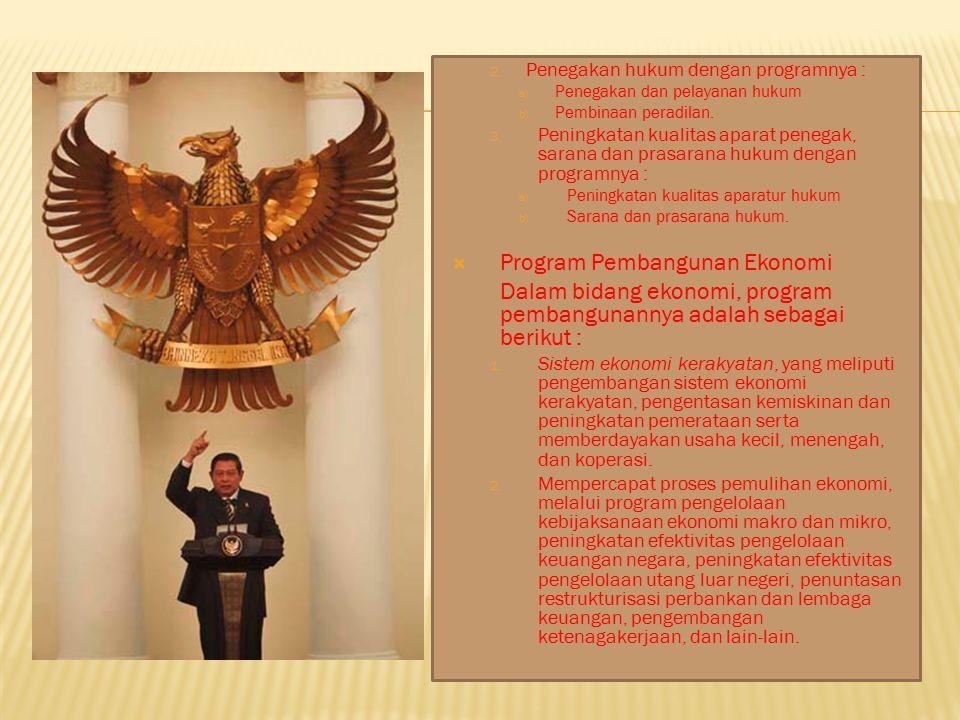 Program Pembangunan Ekonomi