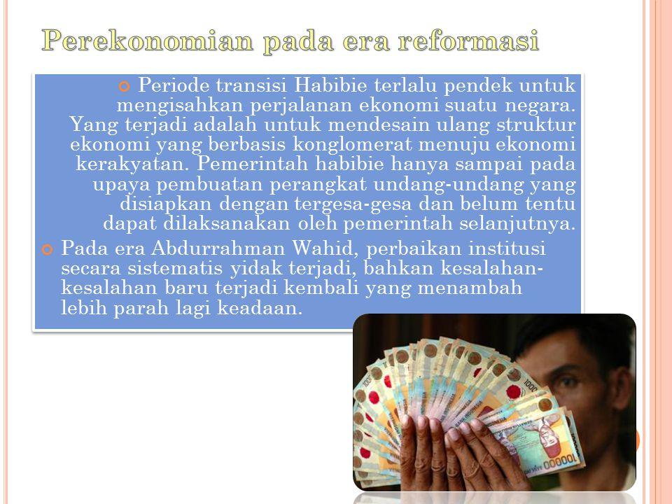 Perekonomian pada era reformasi