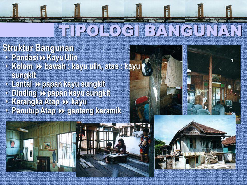 TIPOLOGI BANGUNAN Struktur Bangunan PondasiKayu Ulin