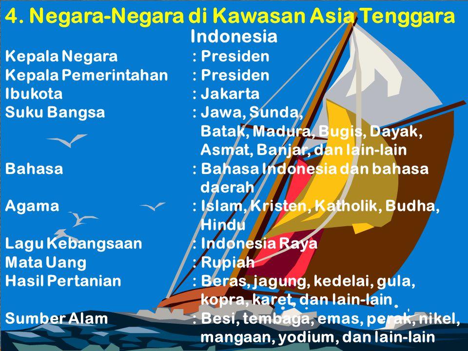 4. Negara-Negara di Kawasan Asia Tenggara