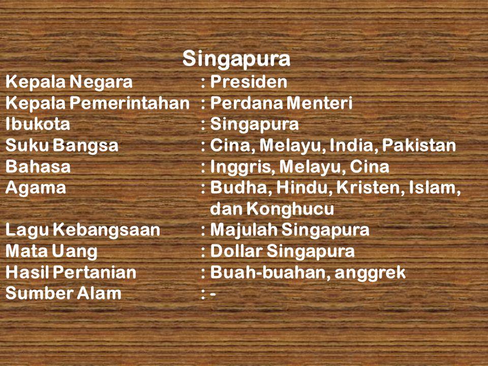 Singapura Kepala Negara : Presiden