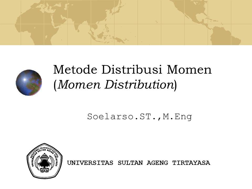 Metode Distribusi Momen (Momen Distribution)