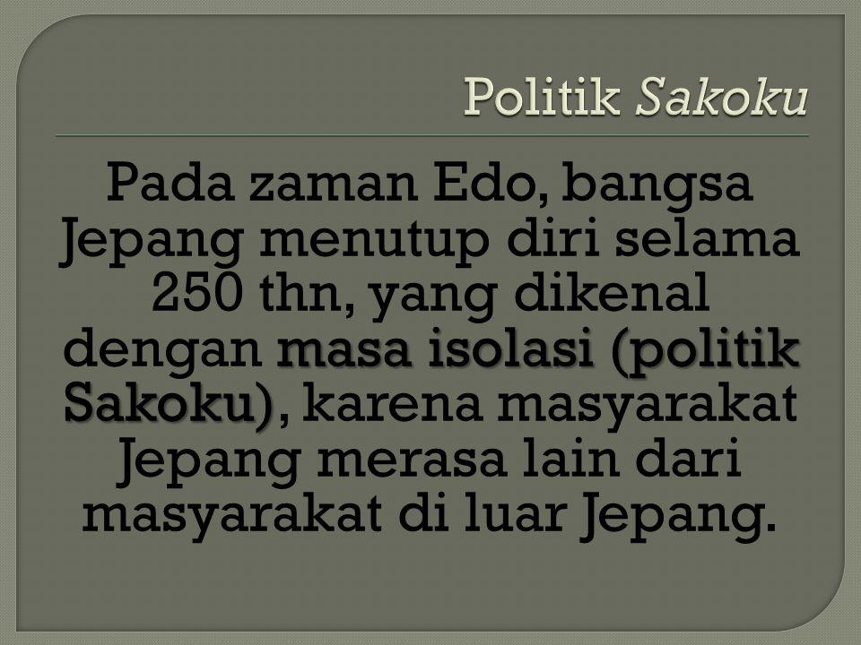 Politik Sakoku