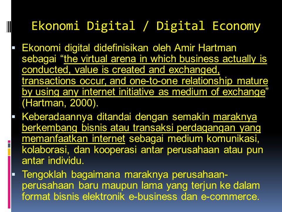 Ekonomi Digital / Digital Economy