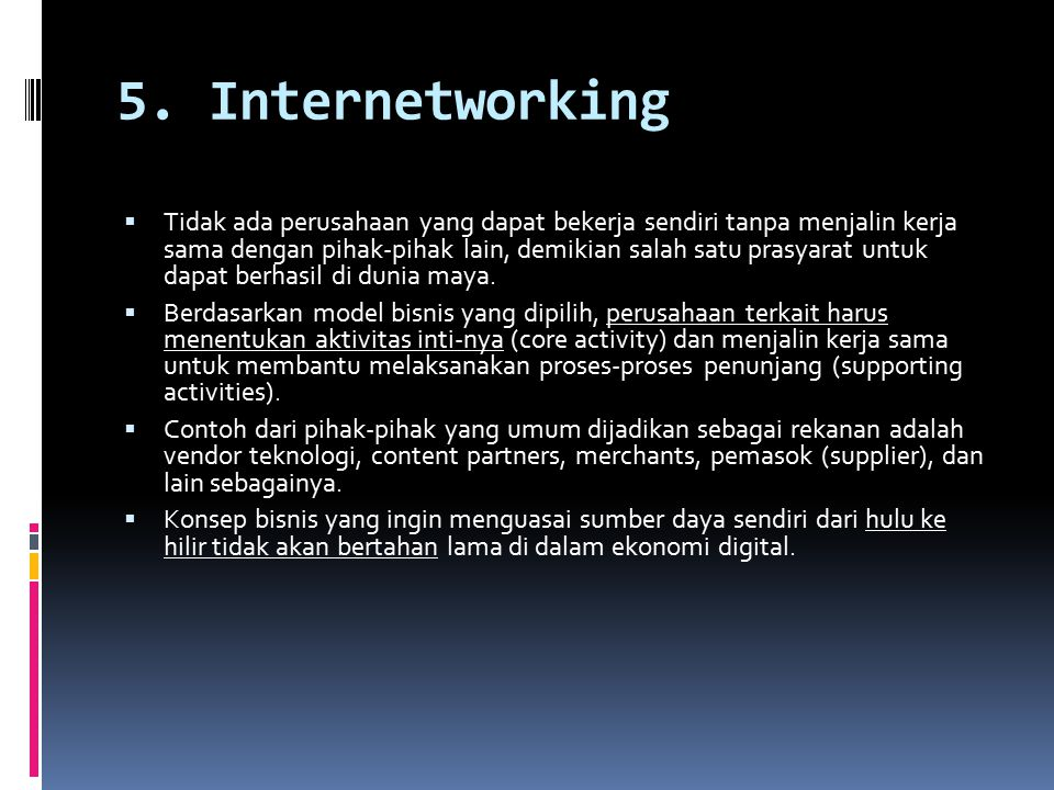 5. Internetworking