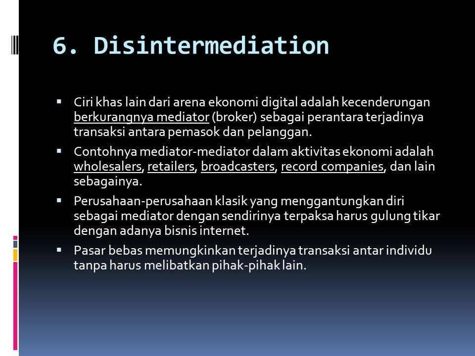 6. Disintermediation