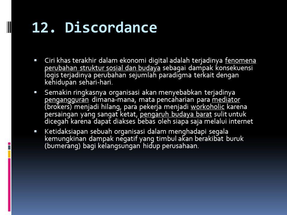 12. Discordance