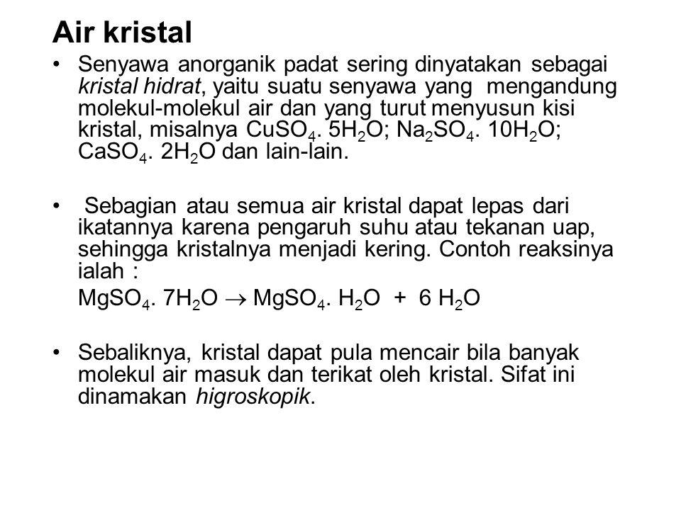 Air kristal