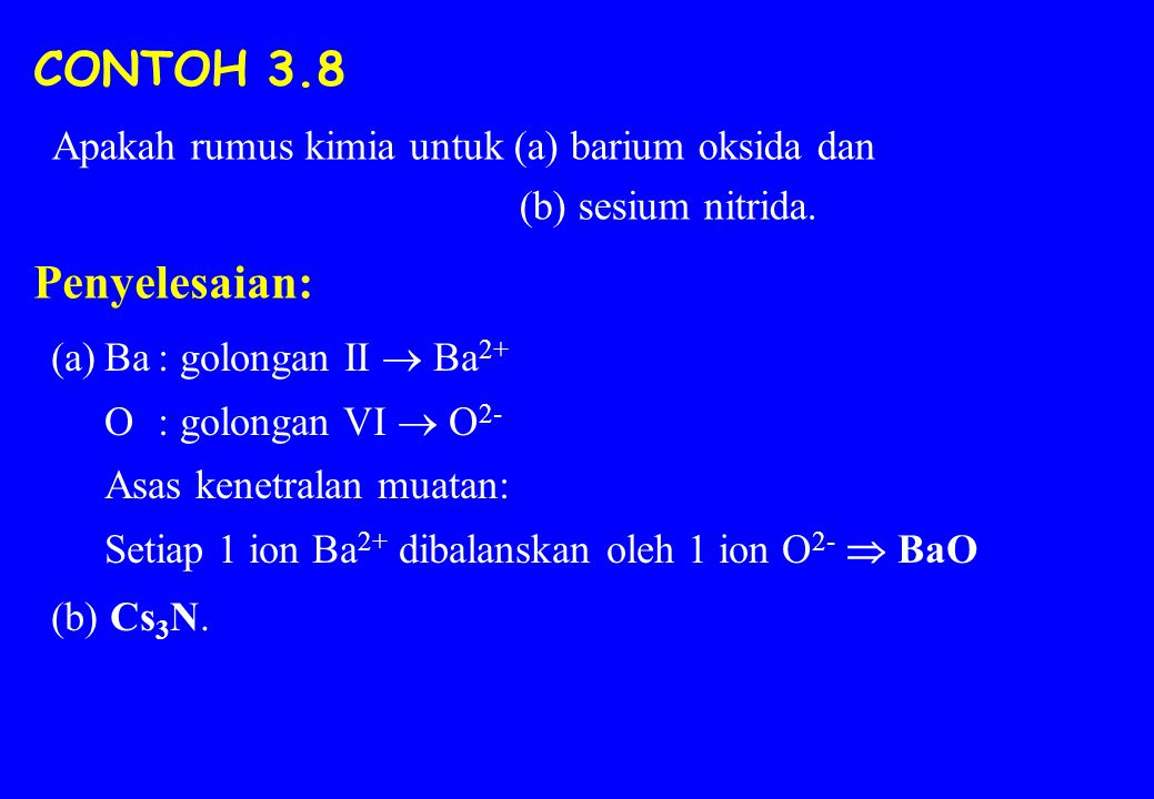 3.7 BENTUK MOLEKUL: TEORI VSEPR