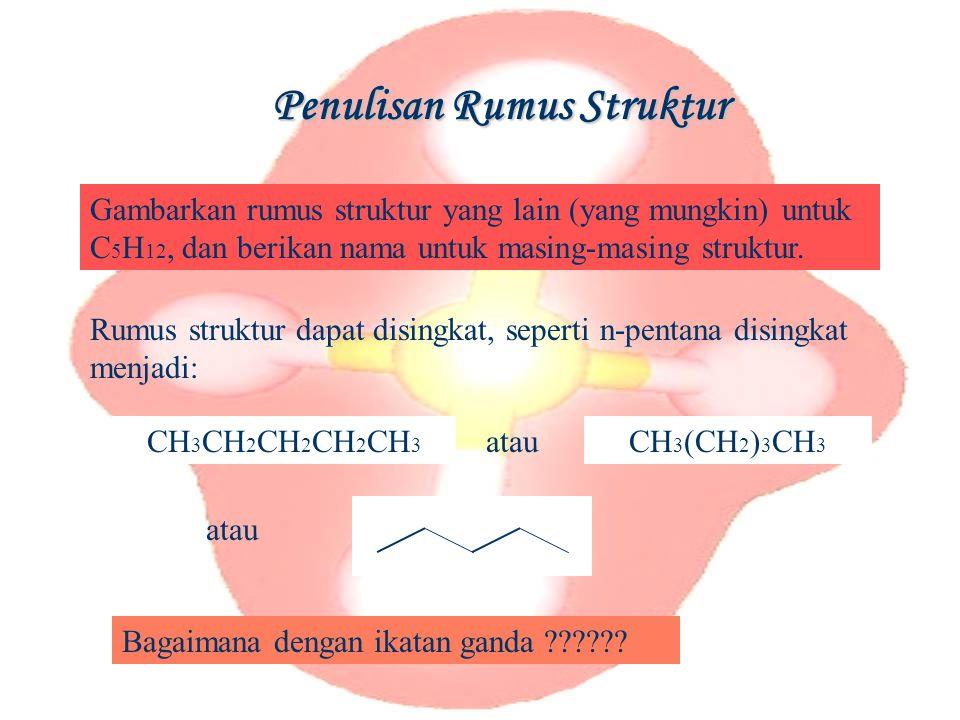Penulisan Rumus Struktur
