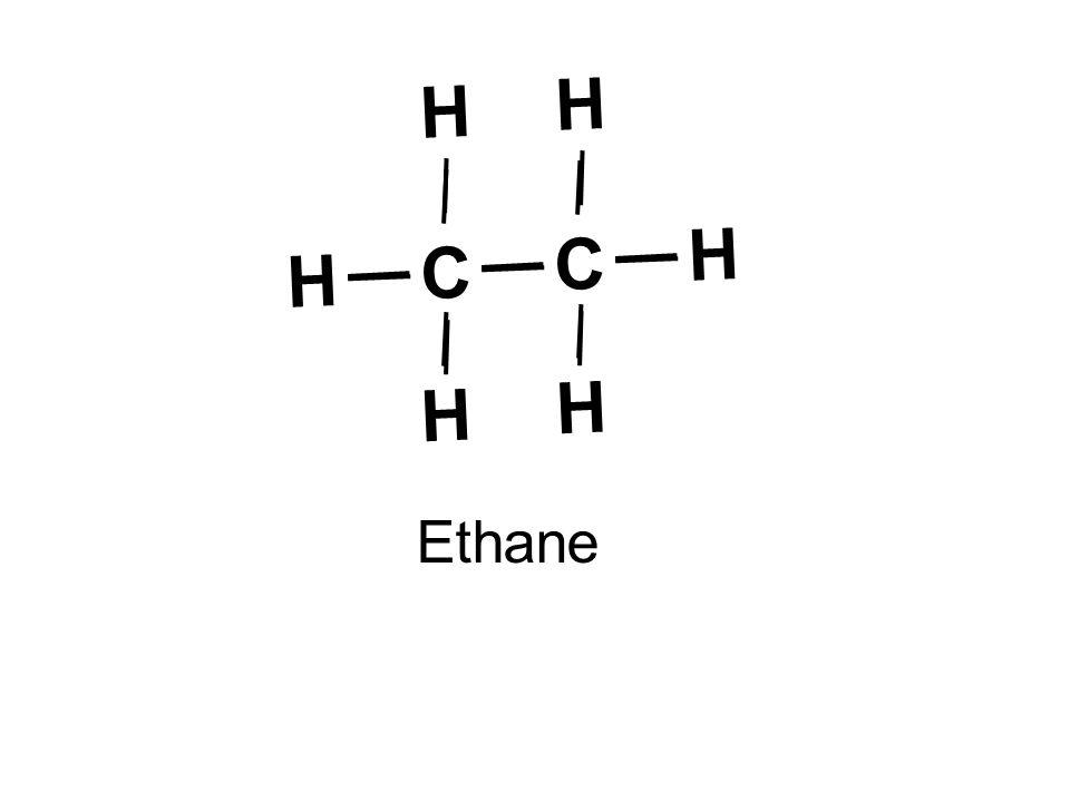 C H Ethane