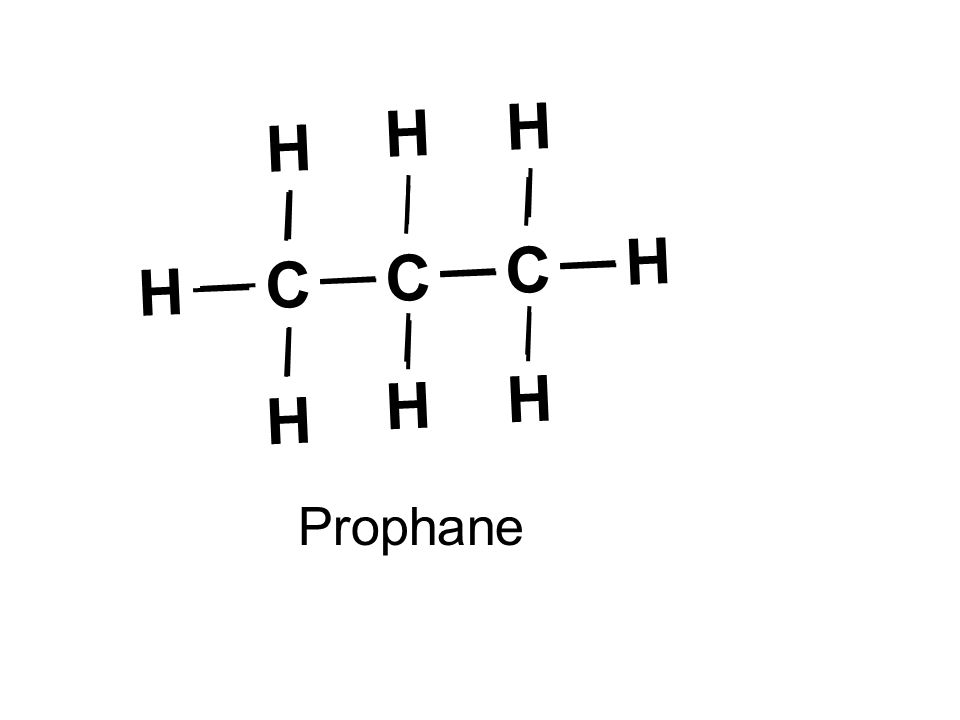 C H H C H H Prophane