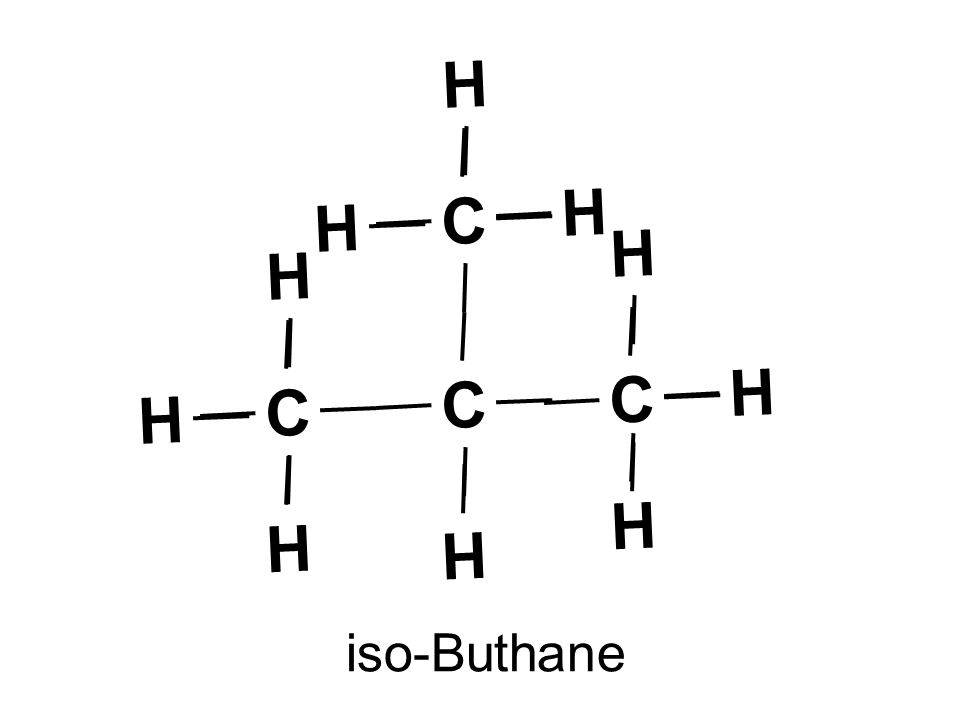 iso-Buthane C H