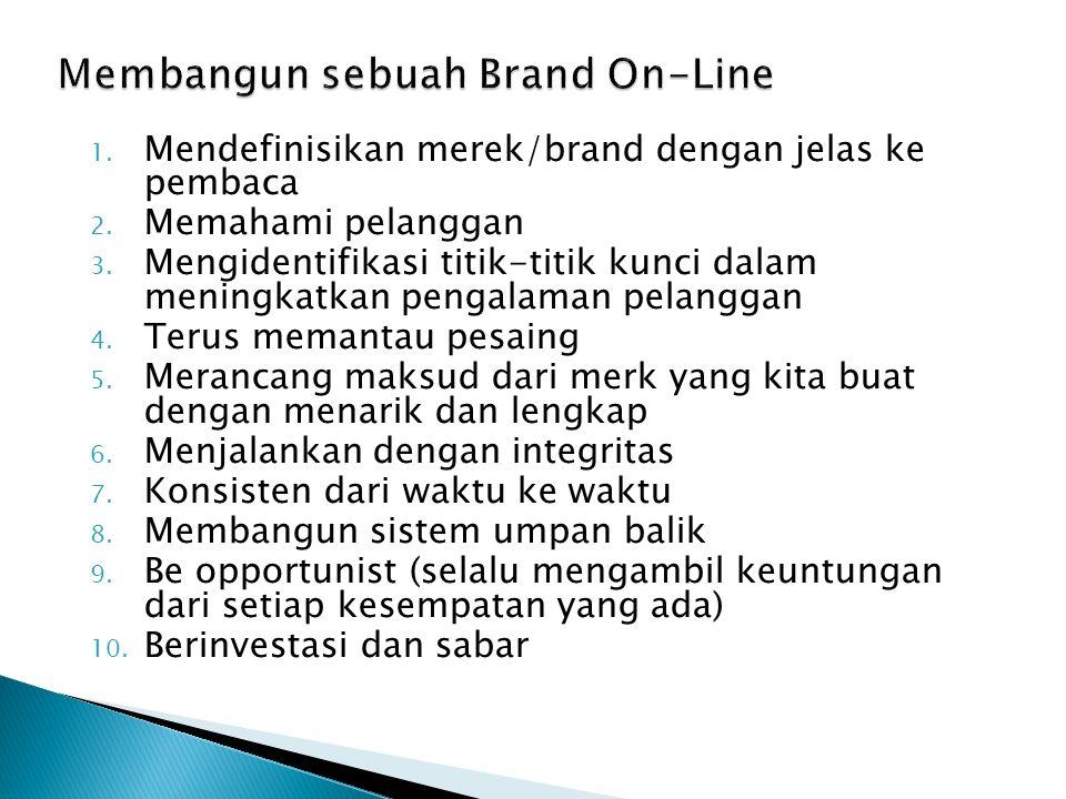 Membangun sebuah Brand On-Line
