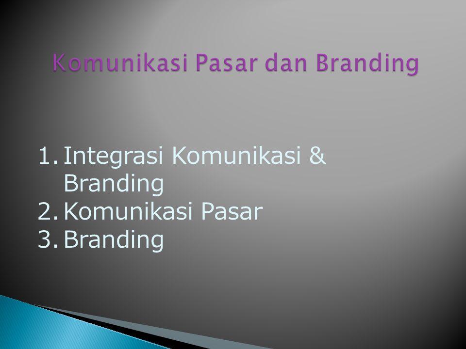 Komunikasi Pasar dan Branding