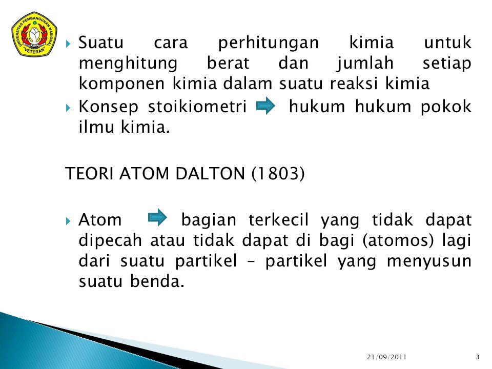 Konsep stoikiometri hukum hukum pokok ilmu kimia.