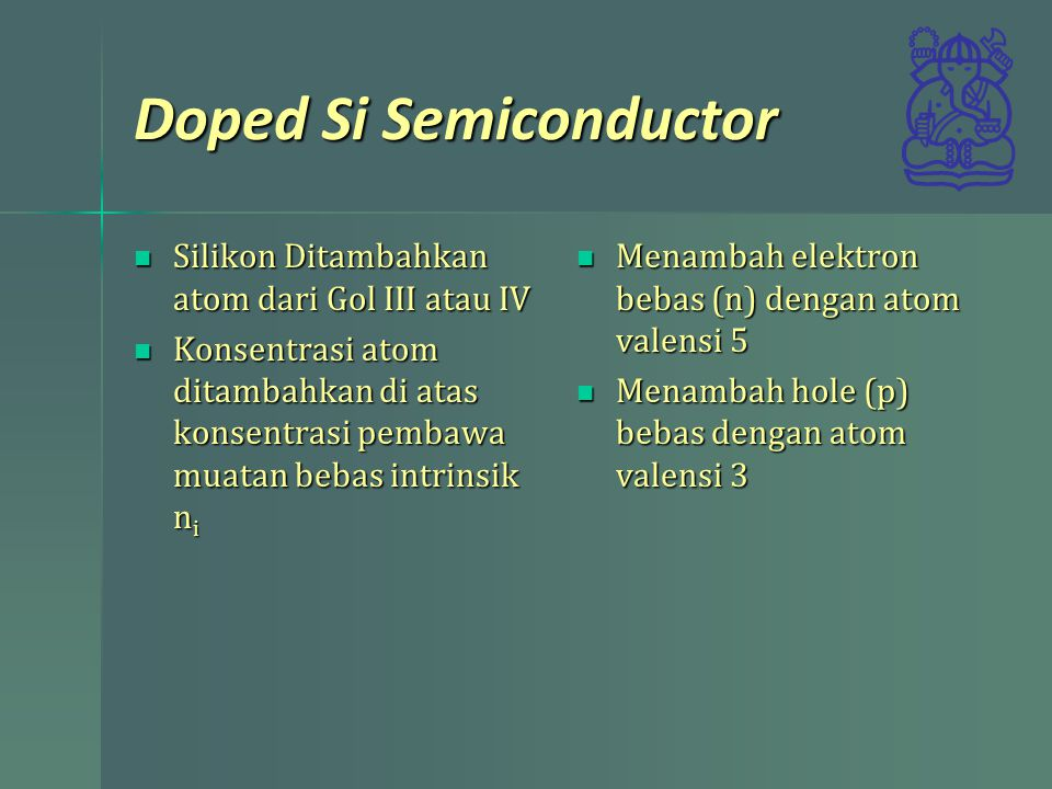 Doped Si Semiconductor