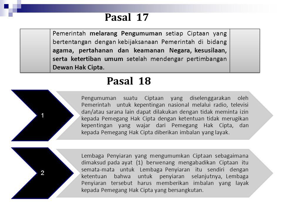 Pasal 17