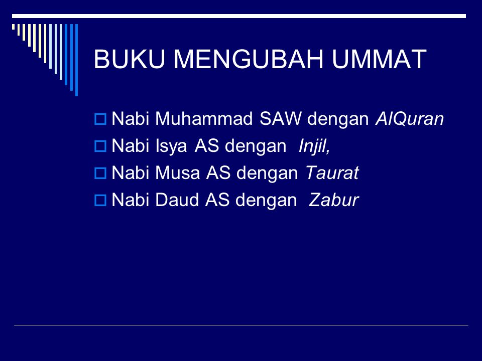 BUKU MENGUBAH UMMAT Nabi Muhammad SAW dengan AlQuran