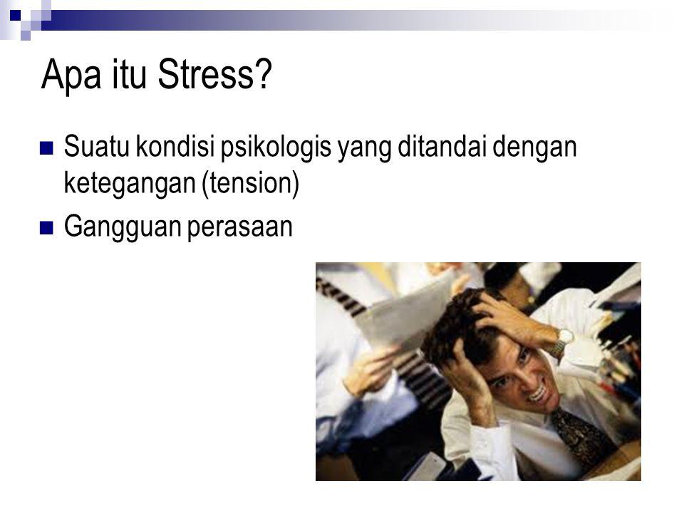 Apa itu Stress.