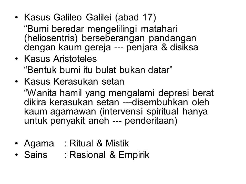 Kasus Galileo Galilei (abad 17)