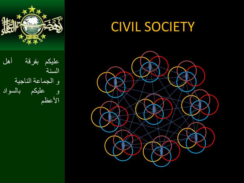 CIVIL SOCIETY عليكم بفرقة أهل السنة و الجماعة الناجية