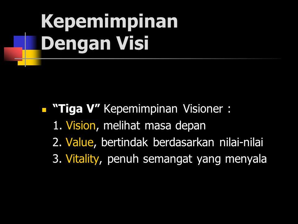 Kepemimpinan Dengan Visi
