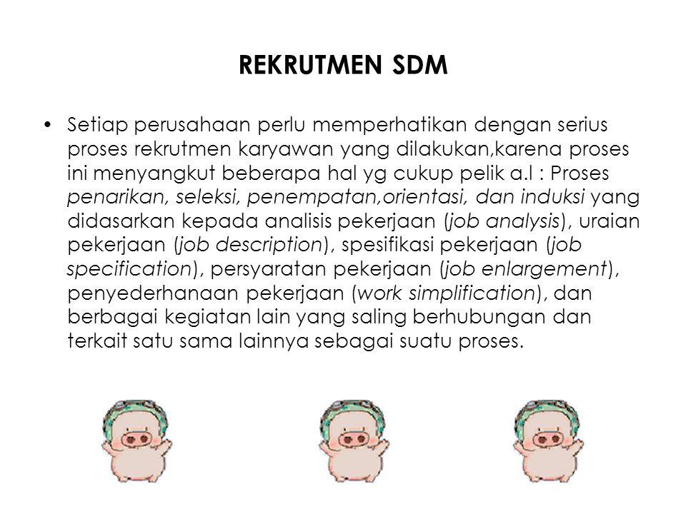 REKRUTMEN SDM