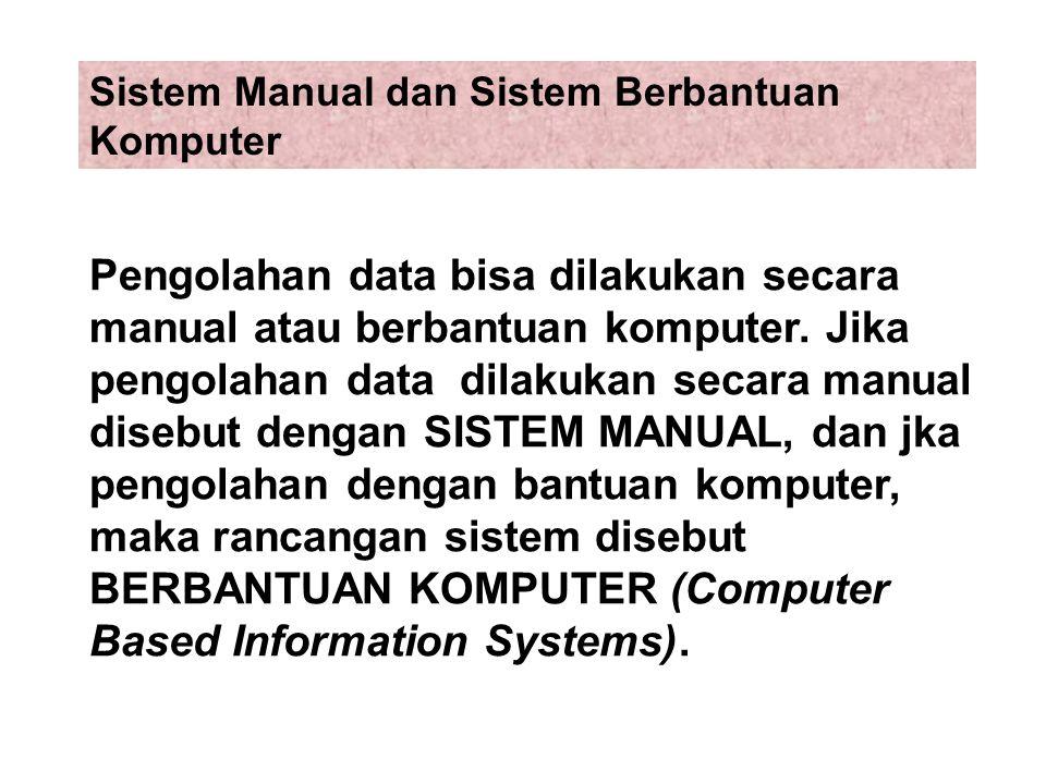 Sistem Manual dan Sistem Berbantuan Komputer