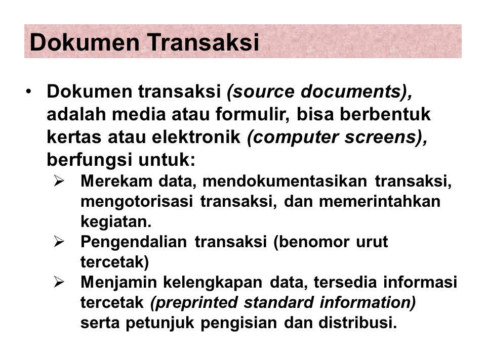 Dokumen Transaksi