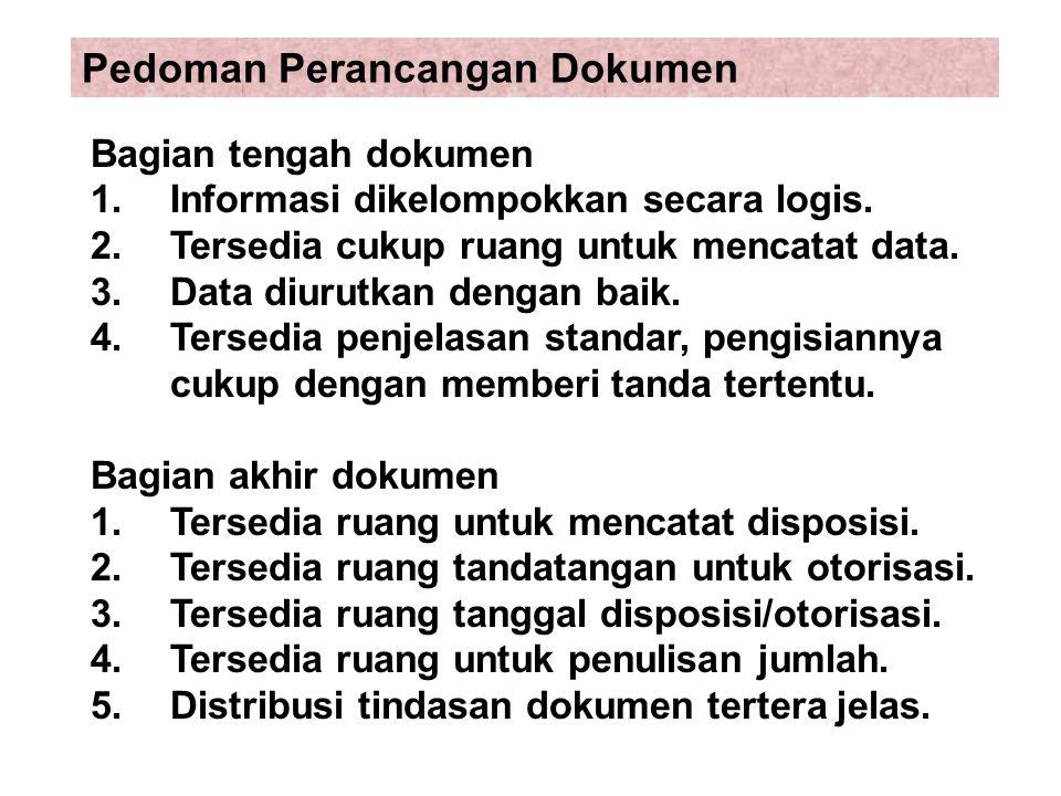 Pedoman Perancangan Dokumen